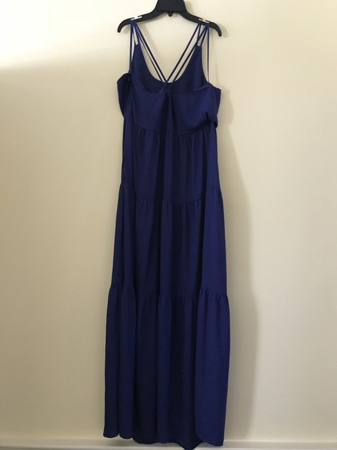 cobalt blue Maxi Dress by Ann Taylor LOFT Summer Image 6