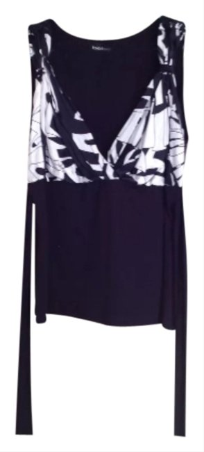 Preload https://item4.tradesy.com/images/bebe-tank-top-black-and-white-2320118-0-0.jpg?width=400&height=650