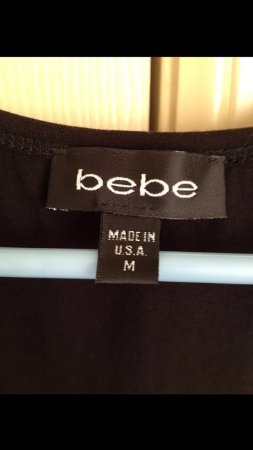 Bebe Top Black and white