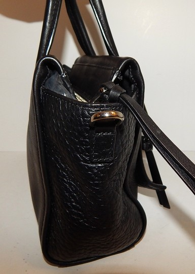 Coach Leather 27923 Satchel in Black Image 2