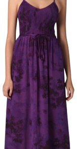 purple Maxi Dress by Rebecca Taylor