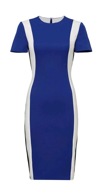 Preload https://img-static.tradesy.com/item/23201322/raoul-blue-white-maritime-colorblock-sheath-crepe-business-work-casual-all-mid-length-cocktail-dress-0-0-650-650.jpg