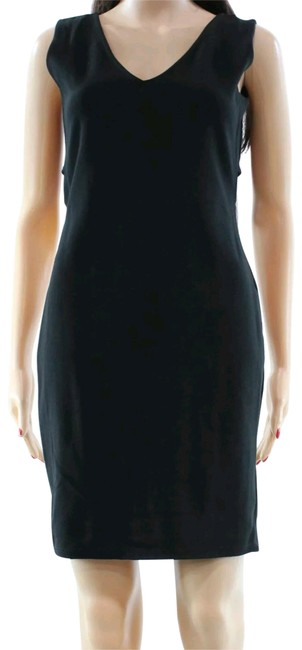 Nordstrom short dress Black Size Large Cut-out Mini Vanity Room Night Out on Tradesy Image 0