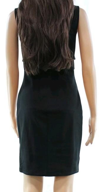 Nordstrom short dress Black Size Large Cut-out Mini Vanity Room Night Out on Tradesy Image 2