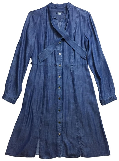 Preload https://img-static.tradesy.com/item/23201570/tommy-hilfiger-denim-chambray-shirtdress-mid-length-short-casual-dress-size-6-s-0-1-650-650.jpg