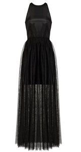 Black Maxi Dress by Line & Dot Anthropologie Wedding Prom Cocktail