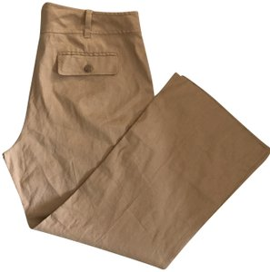 Banana Republic Summer Trouser Pants camel