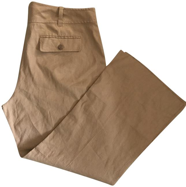 Preload https://img-static.tradesy.com/item/23201746/banana-republic-camel-stretch-linen-pants-size-14-l-34-0-1-650-650.jpg