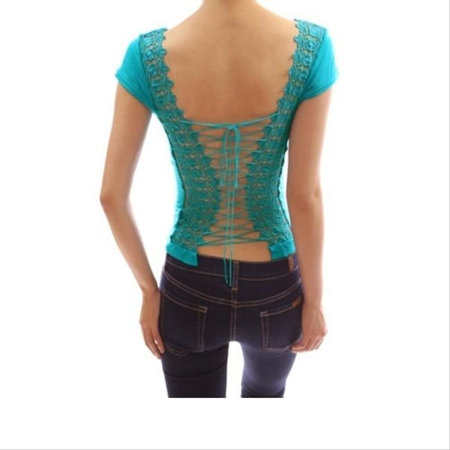 PattyBoutik Top Black/Purple/Turquoise/RED/Blue