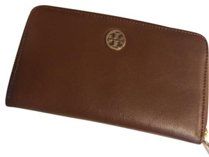 Tory Burch Tory Burch Dena Zip Continental Leather Wallet Luggage