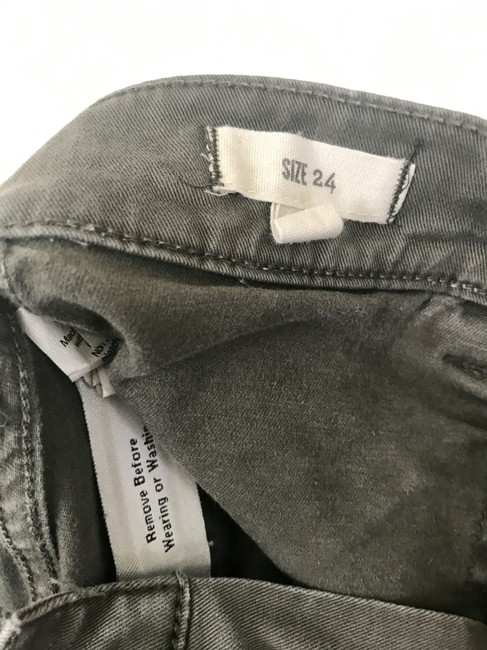 Madewell Fatigues Zipper Silver Hardware Cargo Pants Cargo Green Image 3