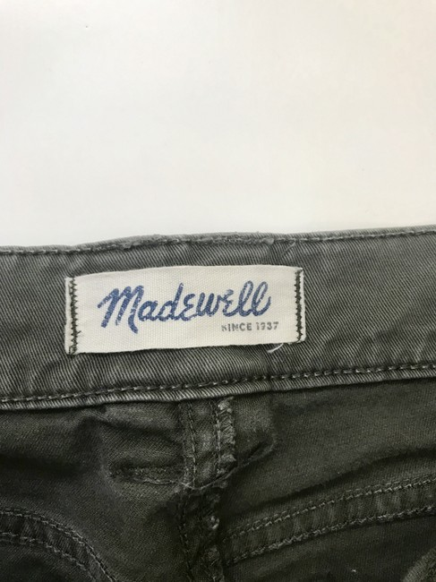 Madewell Fatigues Zipper Silver Hardware Cargo Pants Cargo Green Image 4