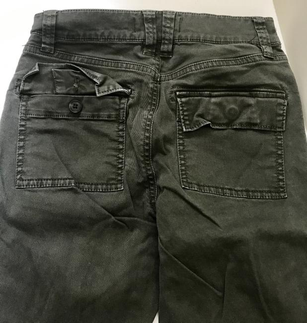 Madewell Fatigues Zipper Silver Hardware Cargo Pants Cargo Green Image 6
