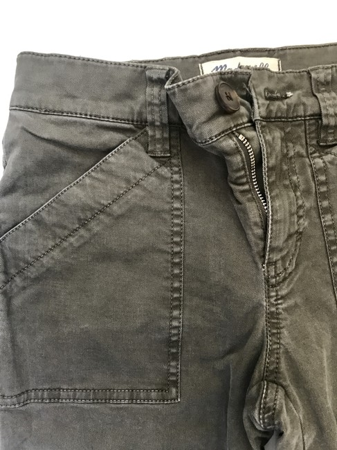 Madewell Fatigues Zipper Silver Hardware Cargo Pants Cargo Green Image 7