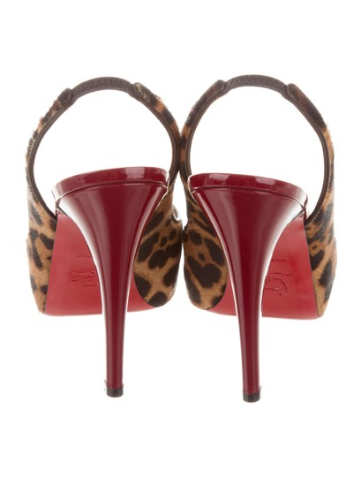 Christian Louboutin Pony Hair Pumps New Sandals Image 3