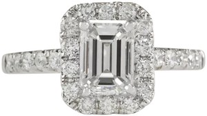 Other New Emerald Cut 925 Sapphire Ring
