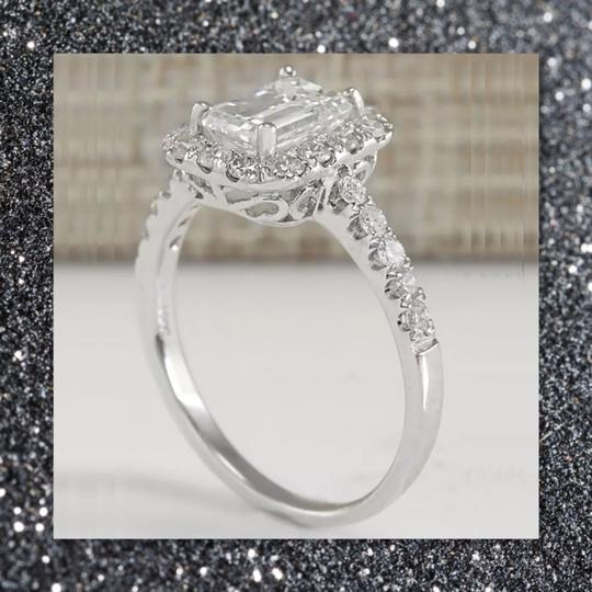 Other New Emerald Cut 925 Sapphire Ring Image 1