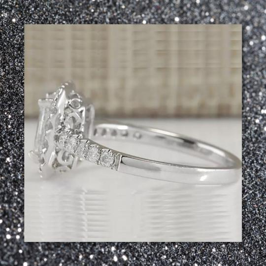 Other New Emerald Cut 925 Sapphire Ring Image 3