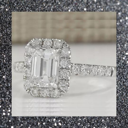 Other New Emerald Cut 925 Sapphire Ring Image 4