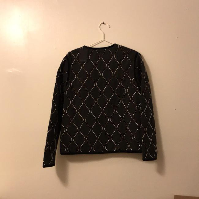 Alexander Wang Quilted Studded Melange Runway Sweater Image 1