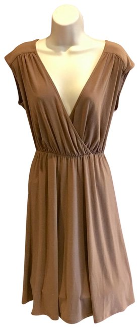 Preload https://img-static.tradesy.com/item/23202107/ny-collection-beige-short-casual-dress-size-6-s-0-1-650-650.jpg
