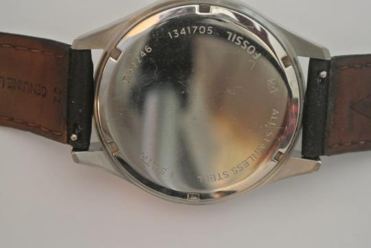 Fossil Fossil All Stainless Steel Quartz Men's Wristwatch Image 3