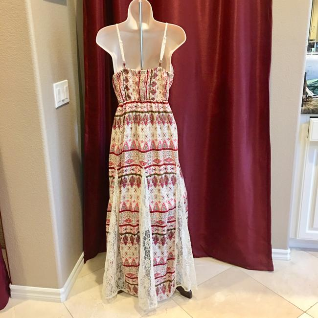 beige and rose Maxi Dress by Other Image 4