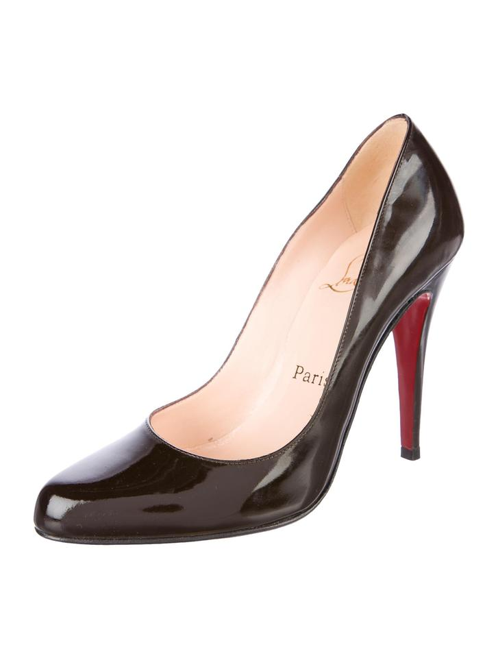 grossiste e06cb 2ab70 Christian Louboutin New Patent Leather Ron Ron 6 Pumps Size EU 36 (Approx.  US 6) Regular (M, B) 41% off retail