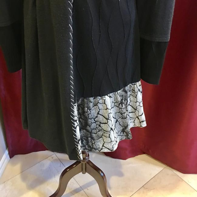 Other short dress grey, black and white on Tradesy Image 2