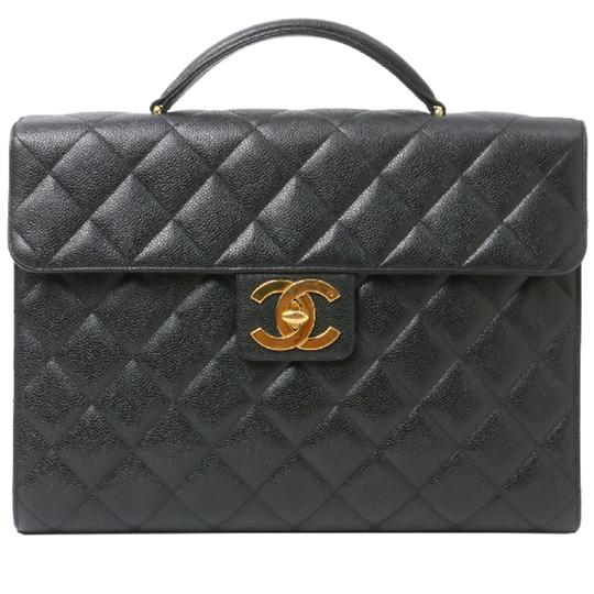 Preload https://img-static.tradesy.com/item/23202214/chanel-classic-flap-portfolio-caviar-briefcase-black-leather-laptop-bag-0-0-540-540.jpg