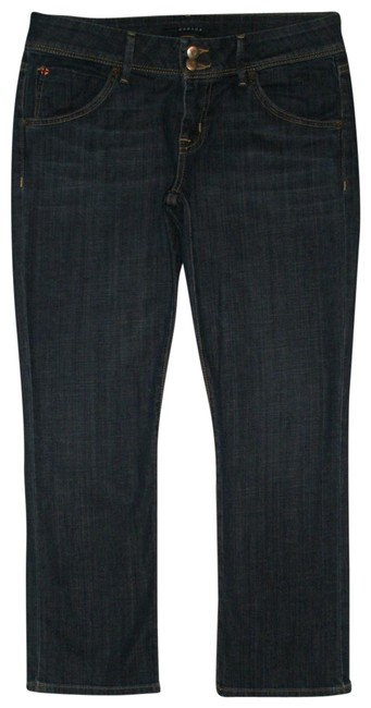 Item - Blue Dark Rinse Beth Crop Baby Capri/Cropped Jeans Size 29 (6, M)