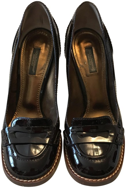 Dolce&Gabbana Brown 80048 Testa Di Moro Pumps Size US 7 Regular (M, B) Dolce&Gabbana Brown 80048 Testa Di Moro Pumps Size US 7 Regular (M, B) Image 1