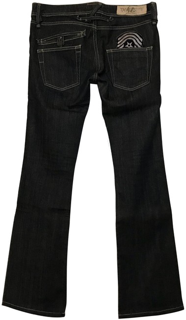 Preload https://img-static.tradesy.com/item/23202648/taverniti-so-jeans-dark-vintage-blue-rinse-courtney-18-boot-cut-jeans-size-8-m-29-30-0-1-650-650.jpg