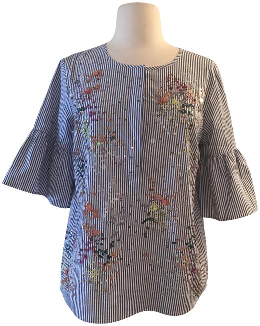 Preload https://img-static.tradesy.com/item/23202713/jcrew-multicolor-collection-embellished-button-front-bell-sleeve-samp-night-out-top-size-6-s-0-1-650-650.jpg
