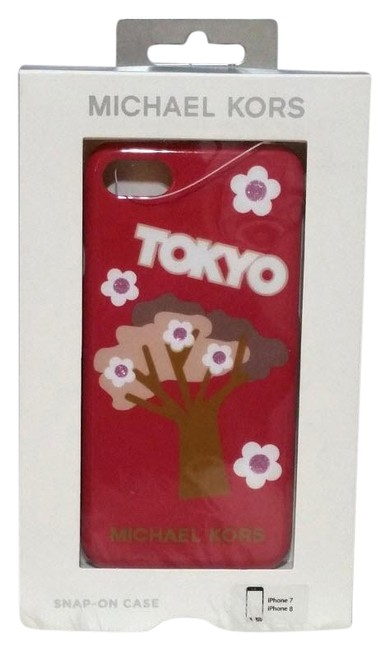 Item - Red Tokyo City Iphone 7/8 Plus Smart Phone Case Tech Accessory