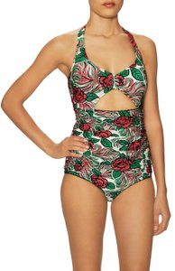 Anna Sui Peek a Boo Mio Removable Soft Cup Swimsuit