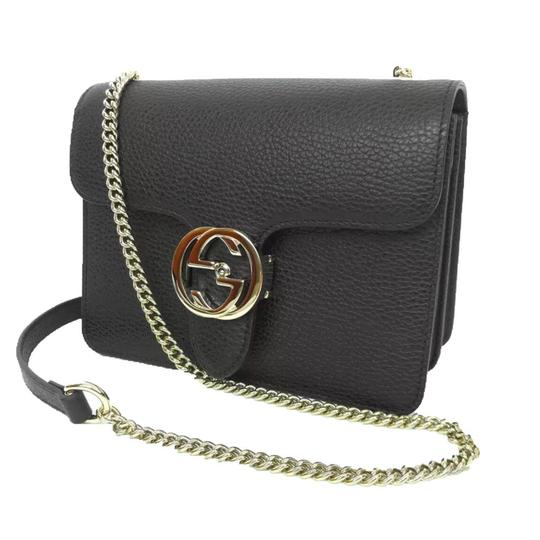 cd6935c2dbb61d Gucci Interlocking Leather Bag Black | Stanford Center for ...