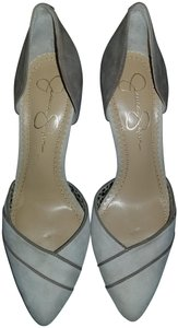 Jessica Simpson Suede Comfortable Taupe Pumps