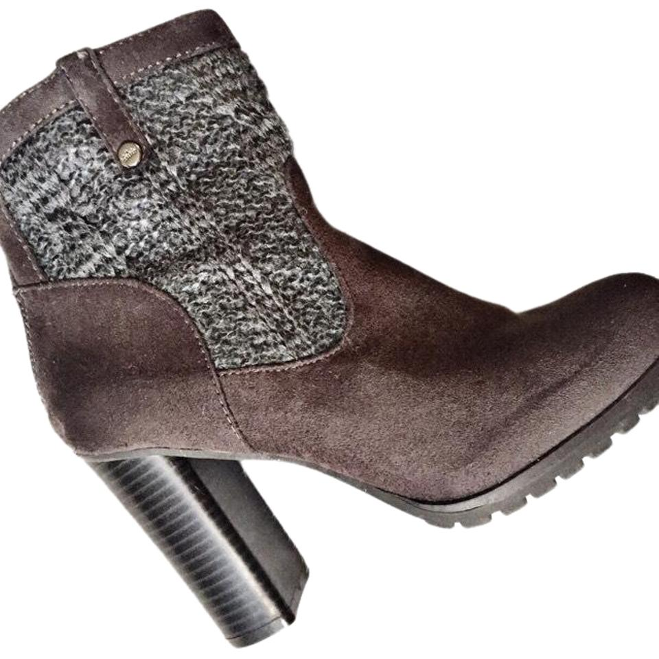 017b8f416ce8 Juicy Couture Gray Suede Sweater (Jclupia) Boots Booties Size US 7.5 ...