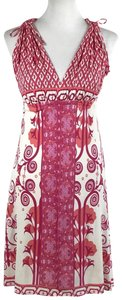 Tracy Reese short dress Pink, White on Tradesy
