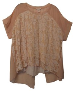 Sundance Silk Knit Embroidered Oversized Xl Tunic