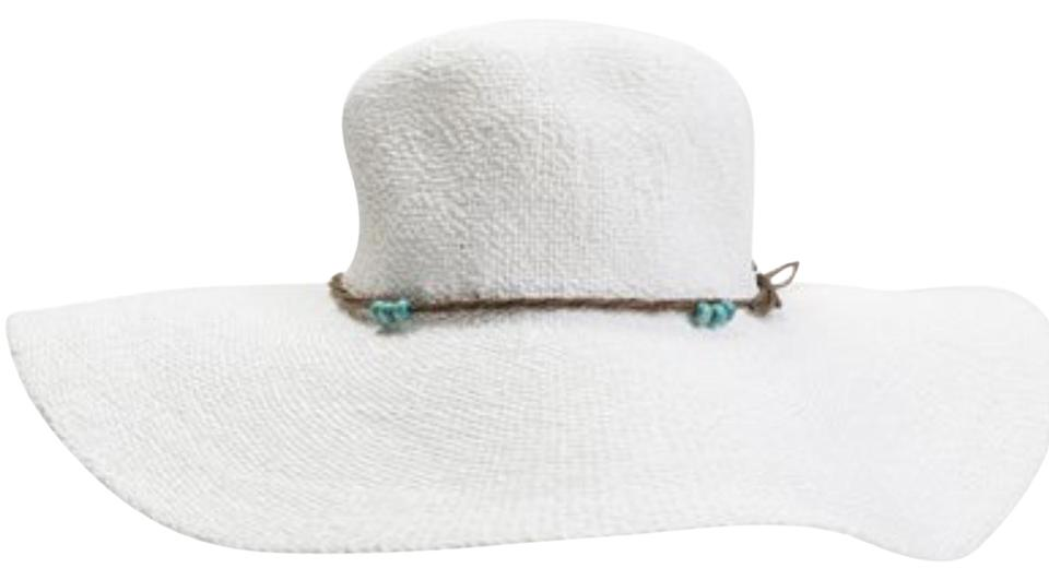 Roxy White By The Sea Floppy Hat - Tradesy 53dbf268650
