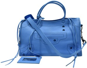 Balenciaga Satchel in Blue Turquoise