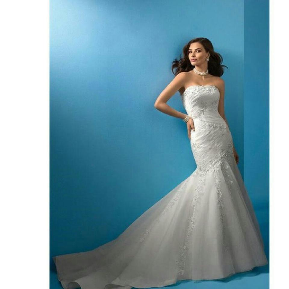 Alfred Angelo 2083 Feminine Wedding Dress Size 6 (S) - Tradesy