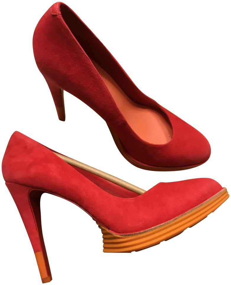 Cole Pump Haan Red Chelsea Lunargrand Pump Cole Platforms ce43d5