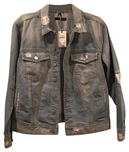 7 For All Mankind denim Womens Jean Jacket