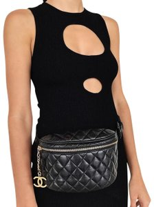 aa794f0a84a1 Chanel Fanny Pack Rare Vintage Kendall Jenner Cross Body Bag