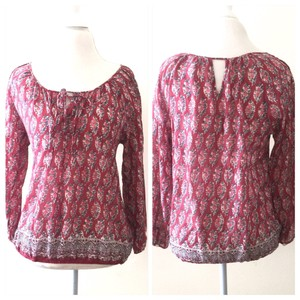American Eagle Outfitters Top Rose Blush