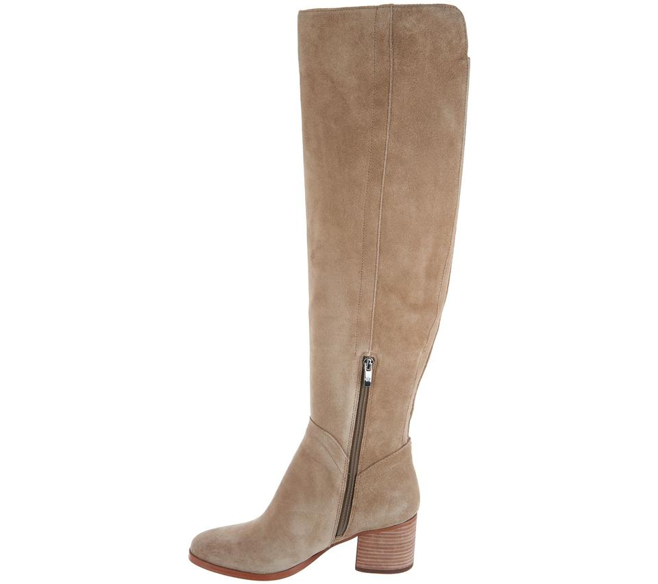 d3b1c3ff09cd Marc Fisher Brown Wide Calf Suede Over-the-knee Boots Booties Size US 7  Regular (M