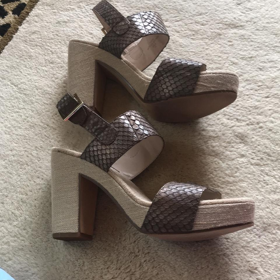 f599748c578 Rosegold Shoes Bronze Taupe Tanya Sandals Size EU 39.5 (Approx. US ...